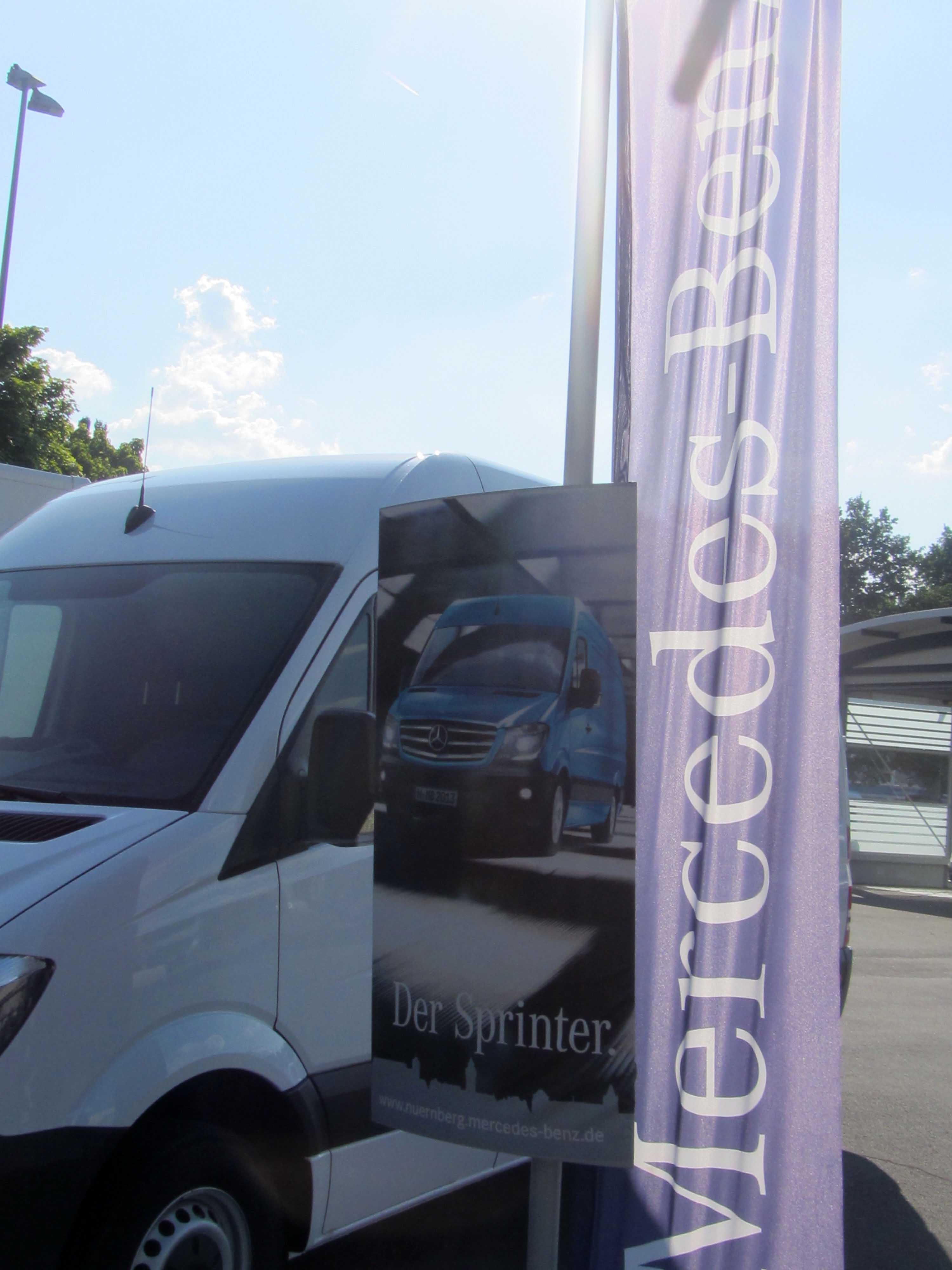 Firmenevent Mercedes Benz in Nürnberg
