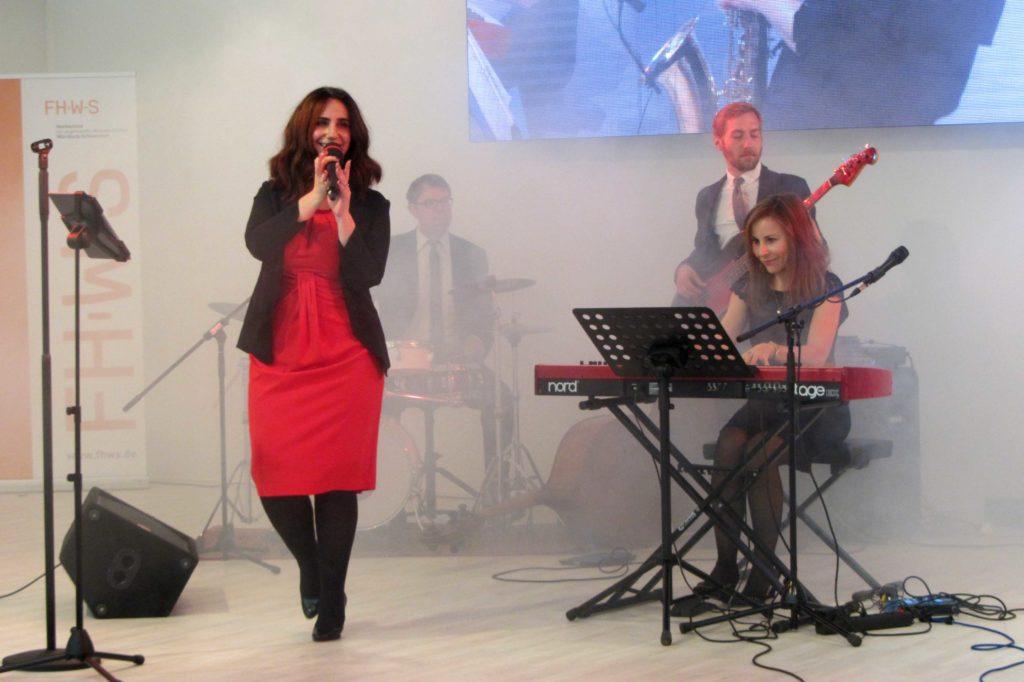 Band Sunny Side auf der UFRA in Schweinfurt
