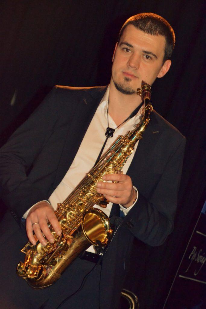 Saxophon, Firmenevent Zippe, Wertheim